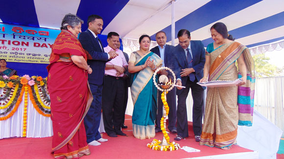 Inaguration of Foundation Day by Hon'ble DG, ICAR